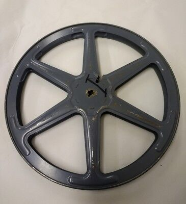VINTAGE METAL16mm FILM REEL - Movie Home Cinema Retro Old Spool Projector