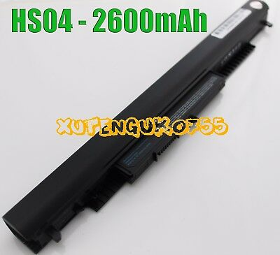 HS04-4Battery HS04 for HP 250 G4 Laptop Replace 807956-001 807957-001 HS03 HS030