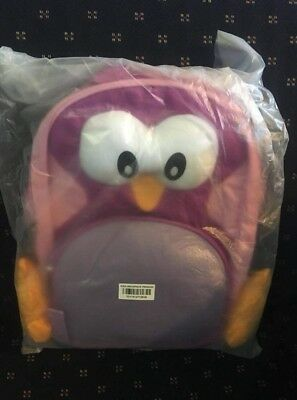 Tupperware penguin backpack