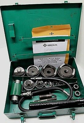 Greenlee  7310Sb Hydraulic Knockout Punch Set  (100% Tested)