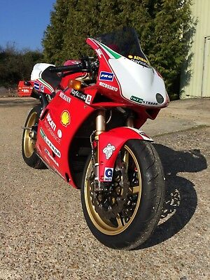 1997 Ducati 916SPS No. 265 (absolutely immaculate) and owned by me from new!