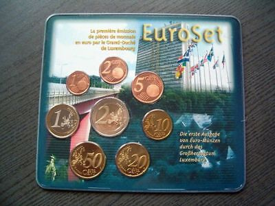 KMS Euro Luxemburg 2002 - Stempeldrehung - Blister