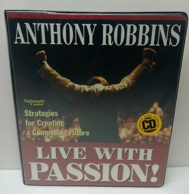 Charles r hobbs your time and your life audio cassette set live with passion 6 cd audio creating a compelling future anthony robbins malvernweather Choice Image