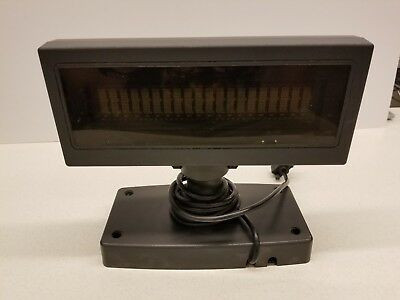 NCR 7443-K455 Customer Display w/ Cable and Short Base