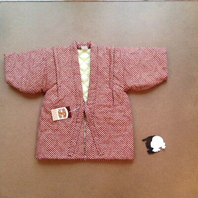 Hanten & Poncho Coat Size 95 Boys 2-3y Japanese Dragon Tiger Embroidered