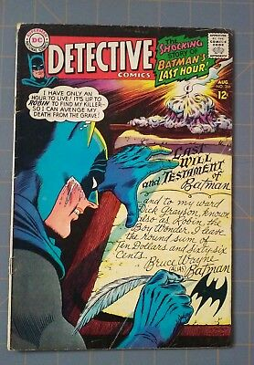 DETECTIVE COMICS #366 1967 DC Silver Age-BATMAN AND ROBIN