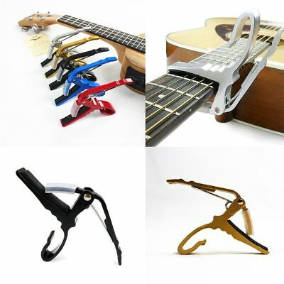 Quick-Change Guitar Key Trigger Clamp Electric Tune Electric  Acoustic Capo