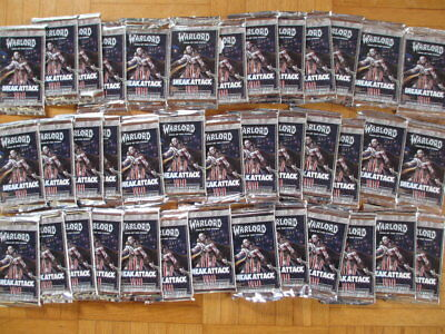 Warlord Saga of the Storm Sneak Attack – New Sealed 39 Booster Pack AEG 2004 612