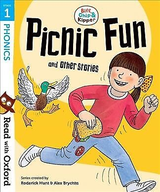 Read With Oxford: Stage 1: Biff, Chip and Kipper: Picnic Fun and Other Storie...