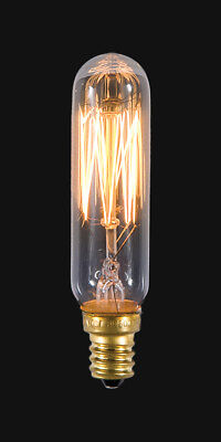 CANDELABRA BASE ~ VINTAGE STYLE { T6 ~ Tube } ~ 25 Watt ~ Light Bulb ~ by PLD