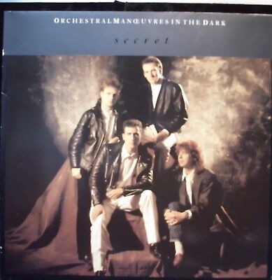"""Orchestral Manoeuvres in the dark: Secret (Extended Mix) 12"""" Maxi Single"""
