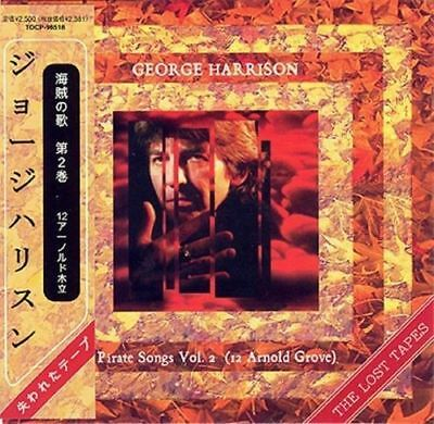 George Harrison The Lost Tapes Pirate Songs Vol.2 Cd Mini Lp Obi