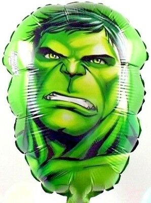 R2F4 Helium foil balloon Hulk Birthday Surprise Geburtstag Marvel Ballon SMASH