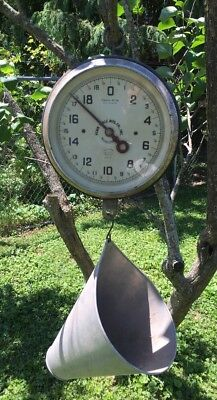 Vintage Penn Hanging Scale Series 106 W Poultry Chicken Country Store 60 Lbs