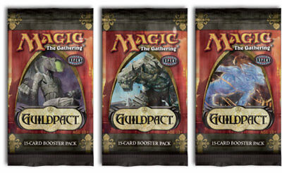 Neu Guildpact / Gildenbund Booster English Magic the Gathering Neu & OVP MtG