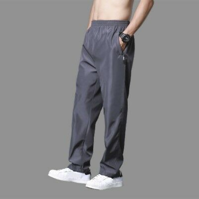 Men Sports Jogger Pants Trousers Running Fast Dry Pocket Drawstring Sweatpants