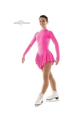 pink ice skating dress