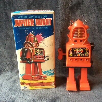 Robot original Jupiterrobot made in Japan 1960 very nice condition fully working