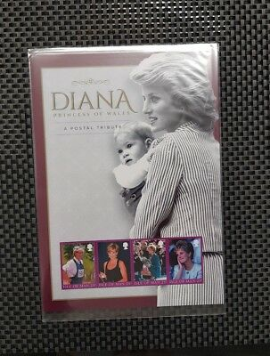 Lady Diana, Princess of Wales Isle of Man 25p.Stamp pack,A postal tribute.