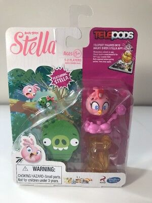 Telepods Angry Birds Stella Free Shipping NEW in package