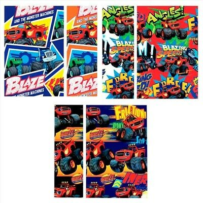 Blaze & The Monster Machines Papel de Regalo
