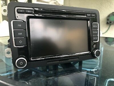VW RCD 510 DAB Radio WITH CODE MP3 SD CARD VOLKSWAGEN GOLF TIGUAN 5K0 035 190 B