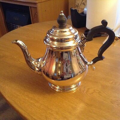 cooper brothers silver plated tea pot excellent condition