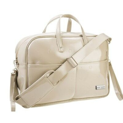 Bolso Maternal Hospital Charol Topo - Colores - Taupe