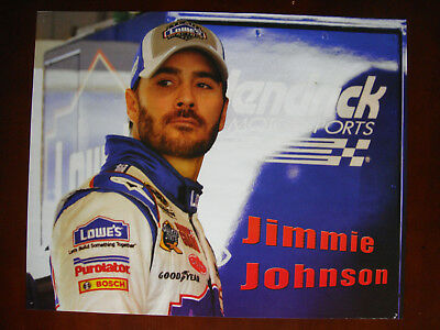 Nascar, Jimmie Johnson, Lowes, Poster 16 x 20 inches