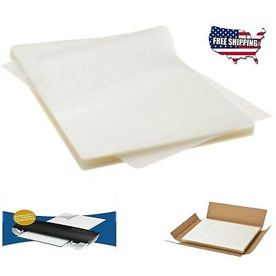 Scotch Thermal Laminating Pouches 100 PCS Clear Letter Size Count Paper Sheet