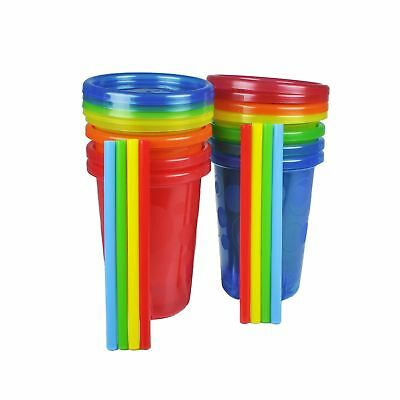 The First Years Straw Cup, Take and Toss, 10 Ounce,, 8-Count