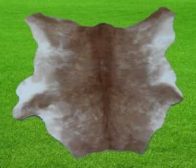 """New Calfhide Rugs Area Cow Skin Leather 5.06 sq.feet (28""""x26"""") Calf hide A-1157"""