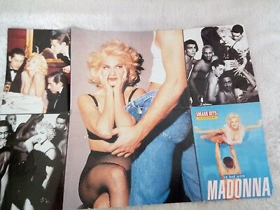 Madonna In Bed With Madonna Poster from Smash Hits