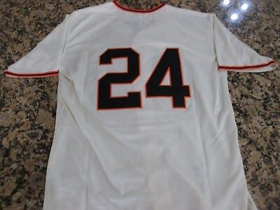 timeless design c7f77 117c7 NEW!!! SAN FRANCISCO Giants WILLIE MAYS Jersey, Cream, Retro, Throwback 44  Large
