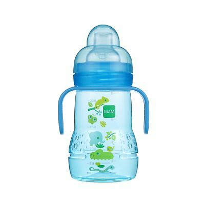MAM Trainer with Handles, Boy, 8 Ounces, 1-Count