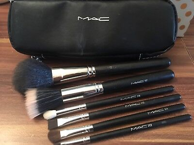 6 Mac Make Up Brushes