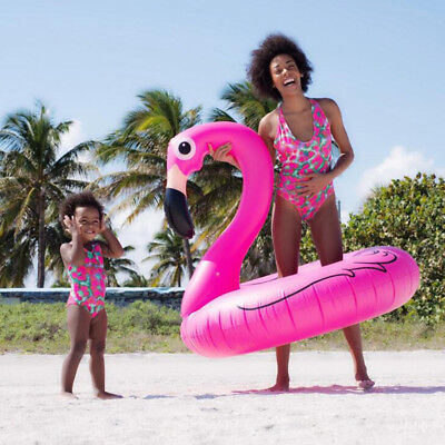 Flamingos One Piece Swimwear Swimsuit for Mother Daughter Matching Swim Costume