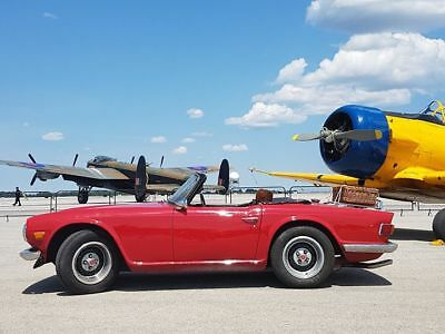 Triumph: TR-6 1973 TR6 with Overdrive