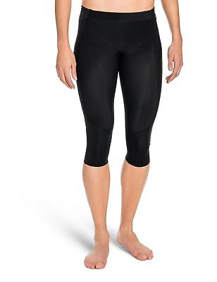 Skins Women's A400Compression 3/4 Capri Tights Black X-Large New