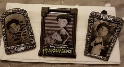 pins disney frankenweenie lot de 3
