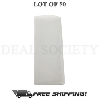 "45 Micron Rosin Press Filter Bags 50 Pack Rosin Screen Bag Filter - 2"" x 4.5"" M"