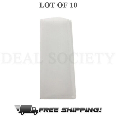 "45 Micron Rosin Press Filter Bags 10 Pack Rosin Screen Bag Filter - 2"" x 4.5"" M"