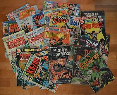Huge lot of Gold/Silver/Bronze Age Comic books - Reading copies, DC, Marvel, etc