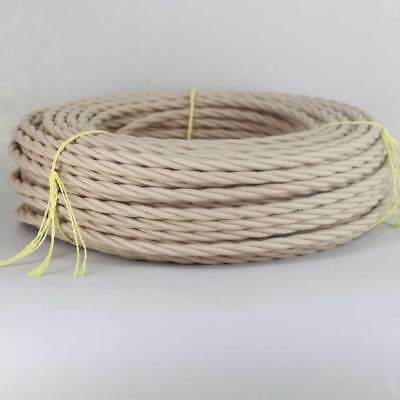 Cloth Covered Twisted Vintage Lamp Wire ~ { 27 Colors } Antique Repairs ~ 25'