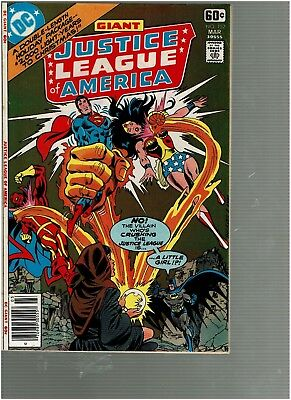 Justice League America 152 Holiday Issue Alien 3 wise men story VF