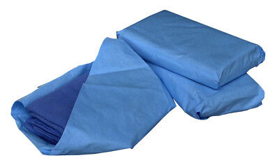 """Medline Sterile Disposable Surgical Towels, Blue, 17"""" x 27"""", 6 Count(Pack of 12)"""