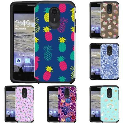 FOR ZTE UHURA / Ultra / Quest N817 Pastel Color Phone Case Cover Cupcake  Unicorn
