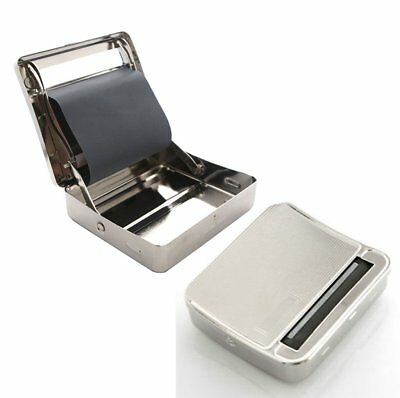 USA easy Automatic Cigarette Smoking Rolling 70mm Metal Machine Roller Box