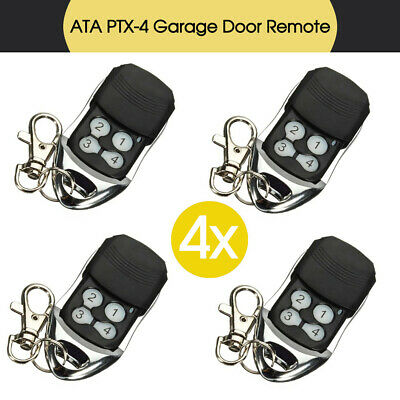 Door Replacement Remote Control For ATA PTX-4 SecuraCode Compatible Garage 4x