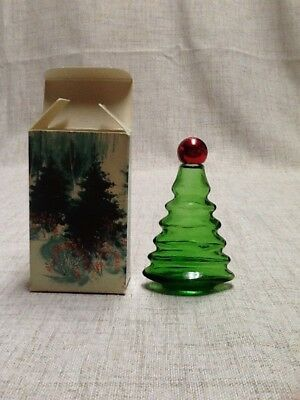 Vintage Avon Touch of Christmas Unforgettable collectable bottle Cologne Empty